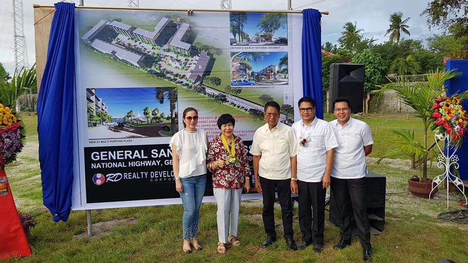 general santos business park groundbreak